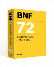 British National Formulary (BNF) 72