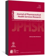 Journal of Pharmaceutical Health Services Research Wertheimer, Albert