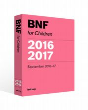 BNF for Children (BNFC) 2016-2017 eBook Paediatric Formulary Committee