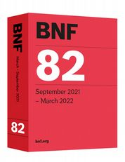 British National Formulary (BNF) 82 Joint Formulary Committee