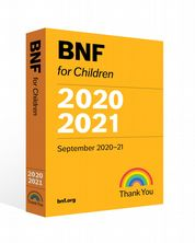 British National Formulary for Children 2020-2021
