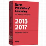 Nurse Prescribers' Formulary Nurse Prescribers' Advisory Group