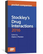 Stockley's Drug Interactions Pocket Companion Edited by Preston, Claire L.