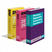 BNF 78, BNF for Children and Pharmacy Registration Assessment Questions 3