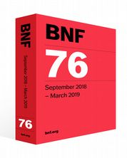 British National Formulary (BNF) 76 Joint Formulary Committee
