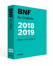 BNF for Children (BNFC) 2018-2019  Paediatric Formulary Committee