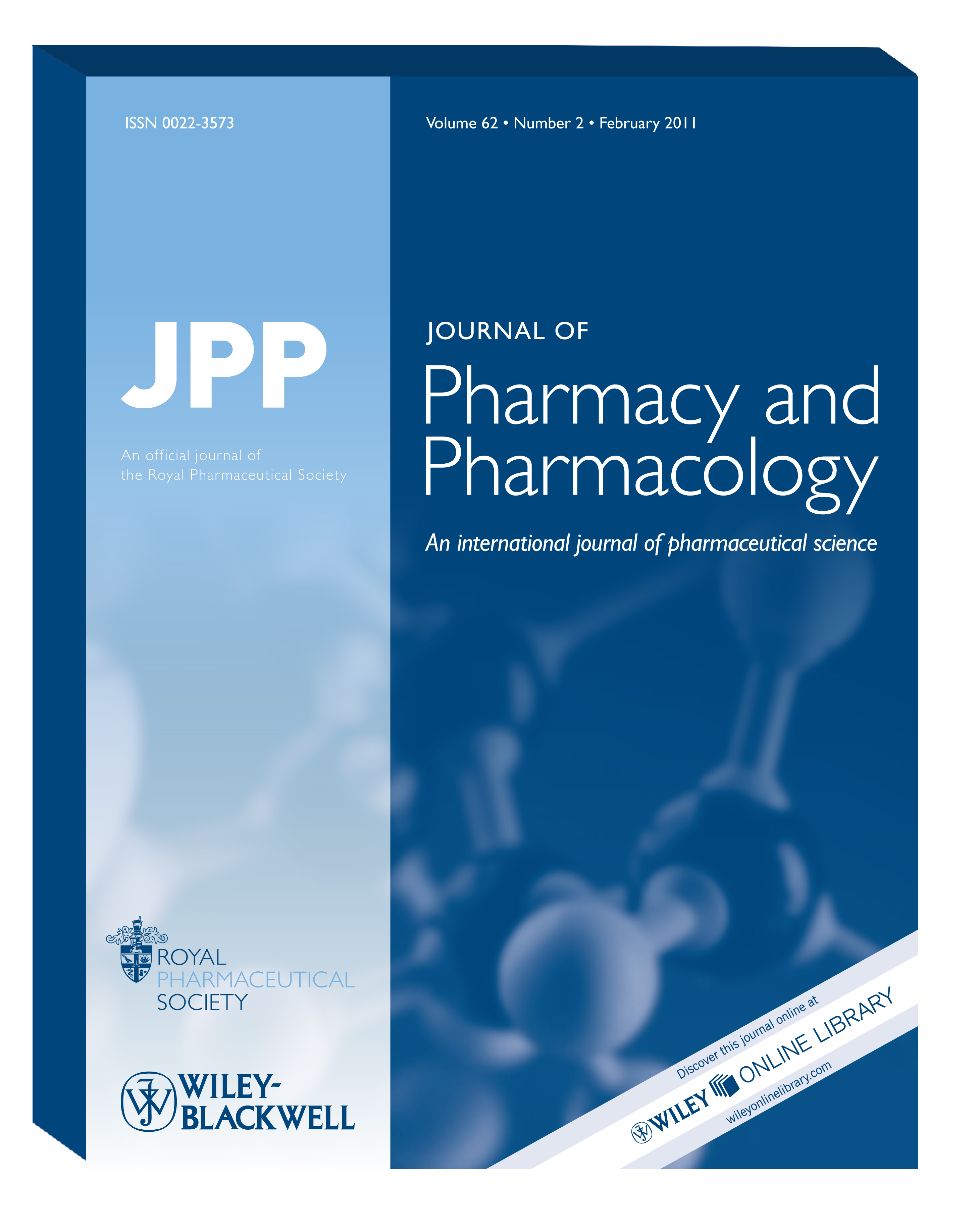 Pharmaceutical Press - Journal of Pharmacy and Pharmacology